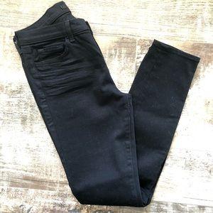 "Size 28/6 J Brand Black Skinny Jean in ""shadow"""